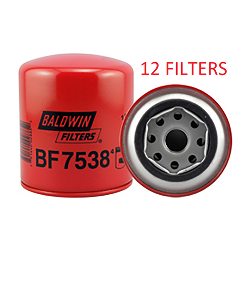 (CASE OF 12) BF7538 BALDWIN FUEL FILTER FF5089 for Mitsubishi FE FH FK FM Fuso a253