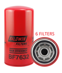 (6 PACK) BF7632 BALDWIN FUEL FILTER FF5321 a157