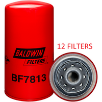 (CASE OF 12) BF7813 BALDWIN FUEL FILTER FF5485 a132