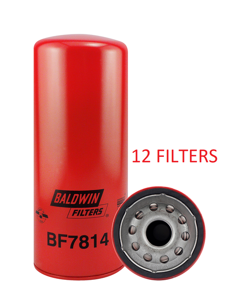 (CASE OF 12) BF7814 BALDWIN FUEL FILTER FF5507 Volvo Mack MP7 MP8 Engines EGR Engine a147