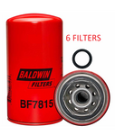 (6 PACK) BF7815 BALDWIN FUEL FILTER FF5488 a170