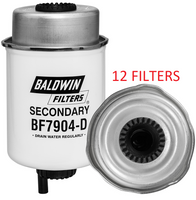 (CASE OF 12) BF7904-D BALDWIN FUEL FILTER FS19912 a116