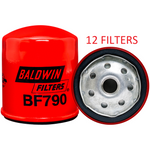 (CASE OF 12) BF790 BALDWIN FUEL FILTER FF5040 FF42002 a124