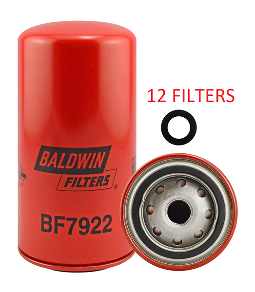 (CASE OF 12) BF7922 BALDWIN FUEL FILTER FF5612 a099