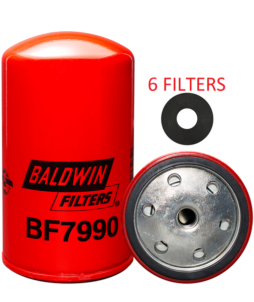 (6 PACK) BF7990 BALDWIN FUEL FILTER FF261 For Caterpillar Equipment a085