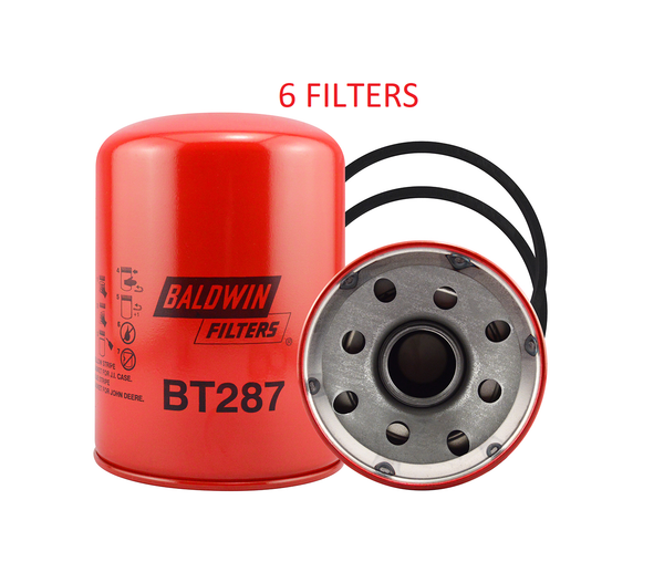 (CASE OF 6) BT287 BALDWIN HYDRAULIC FILTER HF6720 For Bobcat Case Hyster John Deere a166