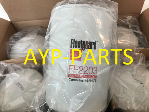 (CASE OF 6) FF2203 FLEETGUARD FUEL FILTER For Kenworth & Peterbilt ISX Engines a046