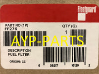 FF276 FLEETGUARD FUEL FILTER WITH FUEL HEATING ELEMENT for Sprinter Vans a135