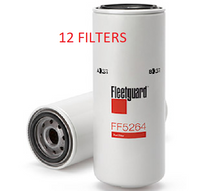 (CASE OF 12) FF5264 FLEETGUARD FUEL FILTER BF614 a223