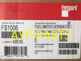 (CASE OF 6) FS1006 FLEETGUARD FUEL FILTER BF1262 Cummins V28 KV38 & KV50 engines a120