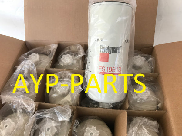 (CASE OF 12) FS19513 FLEETGUARD FUEL FILTER Detroit Diesel Engines a149