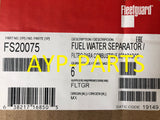 (CASE OF 6) FS20075 FLEETGUARD FUEL FILTER PF9929 for Kenworth Peterbilt Paccar MX-13 a128