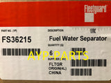 (CASE OF 6) FS36215 FLEETGUARD FUEL FILTER a255
