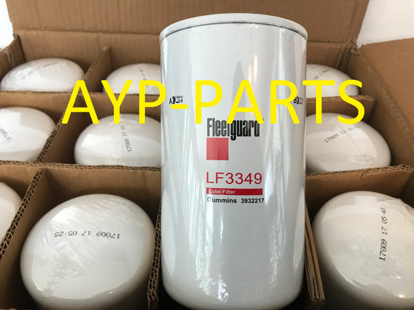(CASE OF 12) LF3349 FLEETGUARD OIL FILTER BT339 Dodge w/ 5.9L 6.7L Cummins Diesel a199