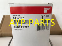 (CASE OF 12) LF3827 FLEETGUARD OIL FILTER For Mercedes MBE904, OM904LA Engines a091