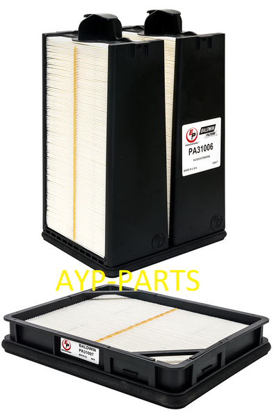PA31006 & PA31007 BALDWIN AIR FILTER SET AF55021 AF55320 a004