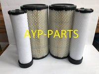 (2 SETS) 2 RS3544 OUTER & 2 RS3545 INNER BALDWIN AIR FILTER SET AF25292 AF25558 a208