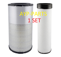 RS3884 OUTER & RS3885 INNER BALDWIN AIR FILTER SET AF25492 AF25491 John Deere a299