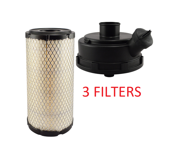 (3 PACK) RS5387 KIT BALDWIN AIR FILTER AF25119 Thermo King Spectrum & SB Series a368