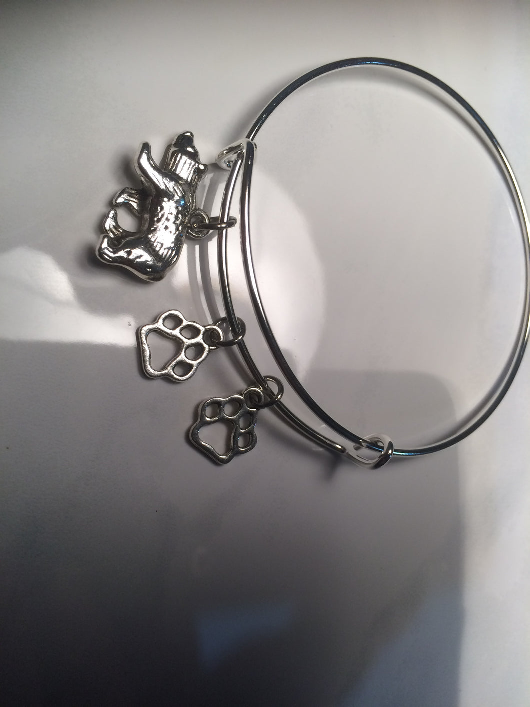 Custom Made Mama Bear Bangles (Choose your number of paws)