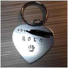 Pet ID Tags with Phone Number - Hand-Stamped