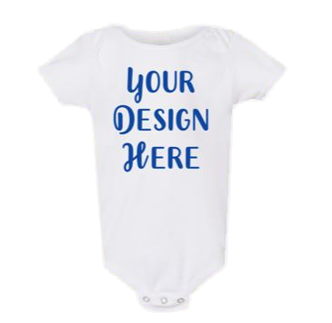 Infant One-Piece Body Suit, Design Your Own Baby Body Suit