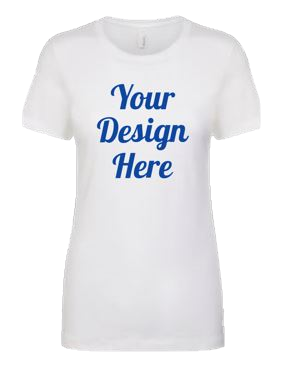 Soft Crew Neck Ladies T-Shirt, Design Your Own T-Shirt