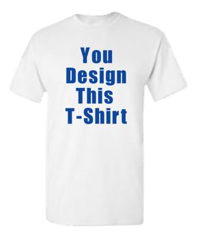 Unisex T-shirt, Design Your Own T-shirt