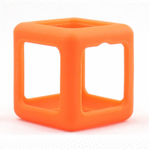 Focus Fidget Cube - Sensory Wrap - Bright Color Protective Wrap - Orange