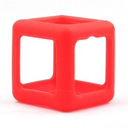 Focus Fidget Cube - Sensory Wrap - Bright Color Protective Wrap - Red