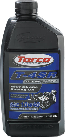 T-4Sr 4-Stroke Racing Oil 10W-40 1L