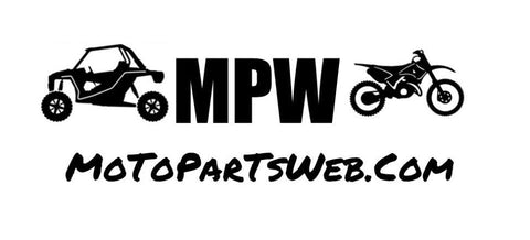 Motopartsweb.com Logo Decal