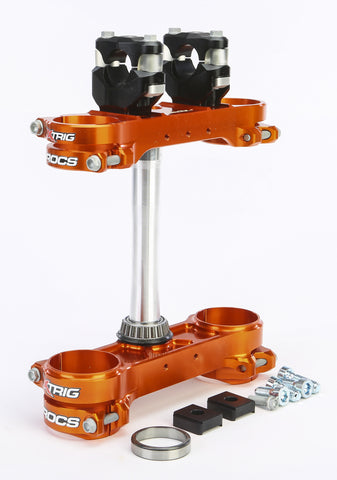 Rocs Clamp Set 20Mm Ktm Orange