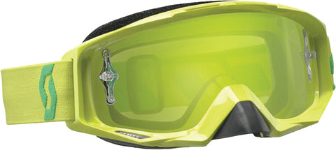 Tyrant Goggle Lime Green W/Green Chrome Lens