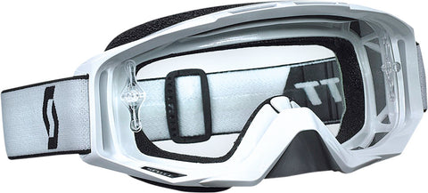 Tyrant Goggle White W/Clear Lens