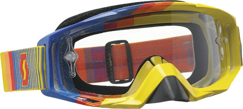 Tyrant Goggle Fade Yellow/Blue W/Clear Lens