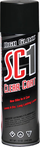 High Gloss Sc1 Clear Coat Sili Cone Spray 12Oz