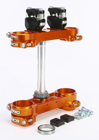Rocs Clamp Set 22Mm Ktm Orange
