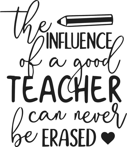 THE INFLUENCE OF A TEACHER STICKER