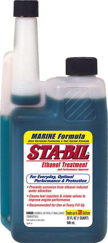 Marine Ethanol Fuel Treatment And Stabilizer 32Oz