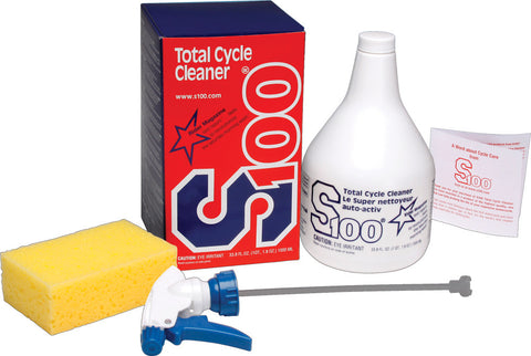 Total Cycle Cleaner Deluxe Set
