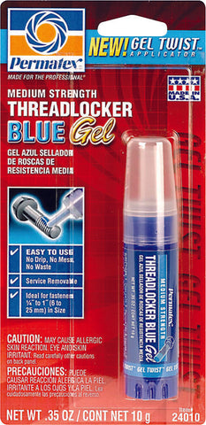 Threadlocker Blue Gel 10Gr