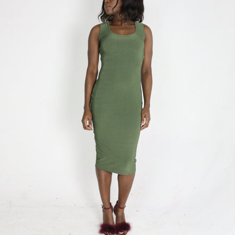 Diedra 'gathered back' Dress