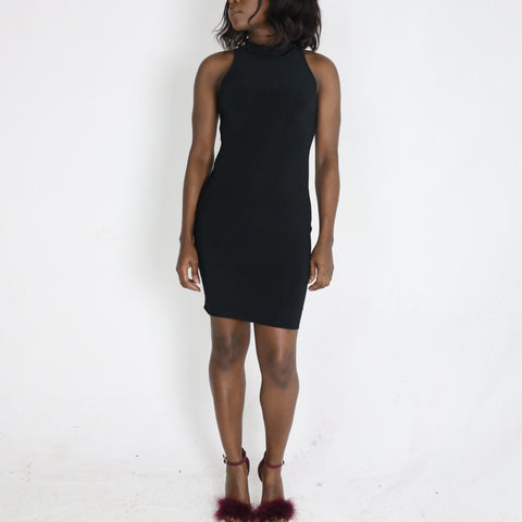 Cleo 'high neck' Dress