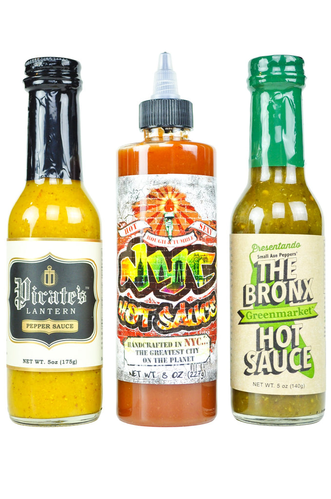 Best of NYC Hot Sauce Pack