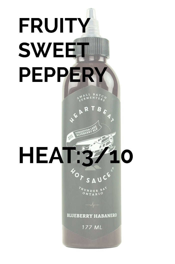 Heartbeat Hot Sauce | Blueberry Habanero
