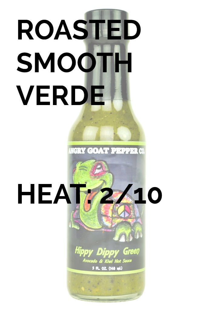 Angry Goat Pepper Co | Hippy Dippy Green