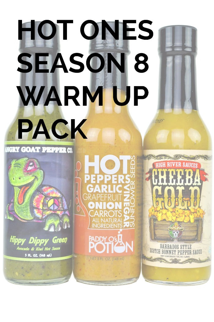 Hot Ones Season 8 Warmup Pack