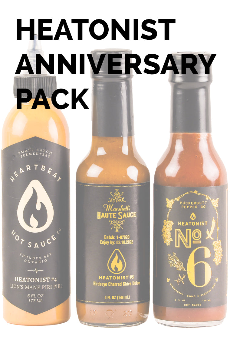 Heatonist Anniversary Pack