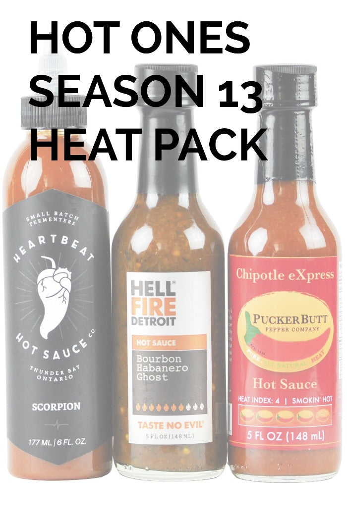 Hot Ones Season 13 Heat Pack